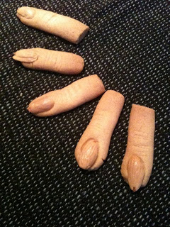 Spooky finger-sm�kager til Halloween!